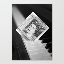 Piano keys £ 20 Canvas Print