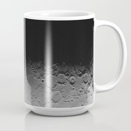 Moon Terminator Mosaic Coffee Mug
