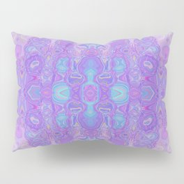 Lavender Dreams Abstract Pillow Sham