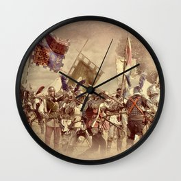 Battle of Bosworth Wall Clock