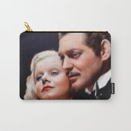 Clark Gable and Jean Harlow Carry-All Pouch