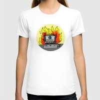 internet T-shirts featuring Internet Exploder by illarterate