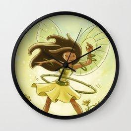 Goblins Drool, Fairies Rule - Hula Hoop  Wall Clock