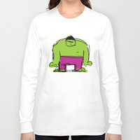 hulk Long Sleeve T-shirts featuring Hulk by Remco Drijver