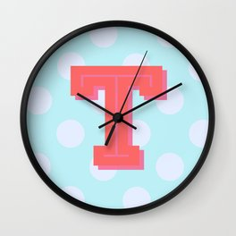 T is for Terrific Wall Clock