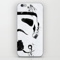 trooper iPhone & iPod Skins featuring Trooper by Purple Cactus