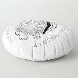 Do Better // Say Anything Floor Pillow