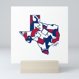 Lone Star State Love Mini Art Print