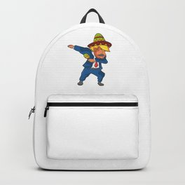 Trump Mexico Dab Dance USA America Donald Dabbing Backpack