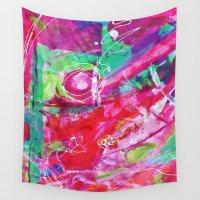 balloon Wall Tapestries featuring Balloon by Julia Dean