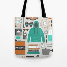 Zombie Survival Kit Tote Bag