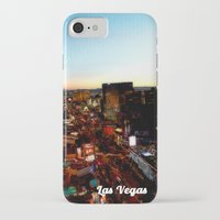 las vegas iPhone & iPod Cases featuring Las Vegas by Natasha Jones