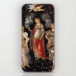 Primavera by Sandro Botticelli iPhone Skin