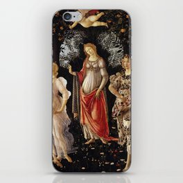 Primavera by Sandro Botticelli iPhone Skin