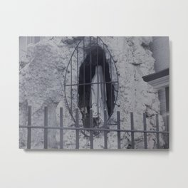 Our Lady of the Mortuary NOLA Metal Print