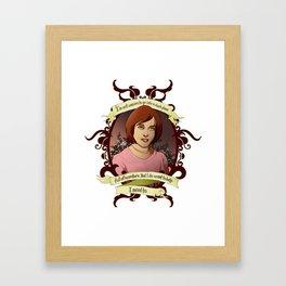 Willow - Buffy the Vampire Slayer Framed Art Print