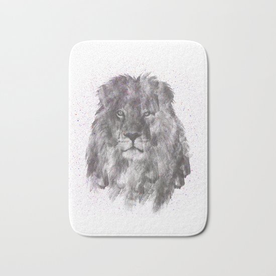 Lion Just Wants to have Fun Bath Mat