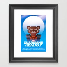 Guardians of the Galaxy - Rocket Raccoon Framed Art Print