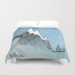 Cloud Mountain Campsite Duvet Cover