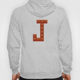 "Letter ""J"" print in beautiful design Fashion Modern Style Hoody"