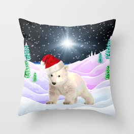 Save My Home | Christmas Spirit Throw Pillow