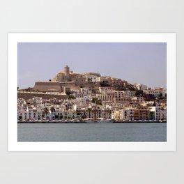 Ibiza Art Print