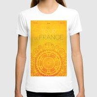 tour de france T-shirts featuring Tour De France 2014 Poster by Patrick Anthony Leverton