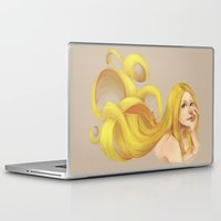 blondie Laptop & iPad Skins featuring Blondie by Prajzis