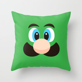Super Bros. P2 Throw Pillow