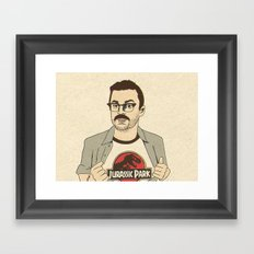 Lowery Framed Art Print
