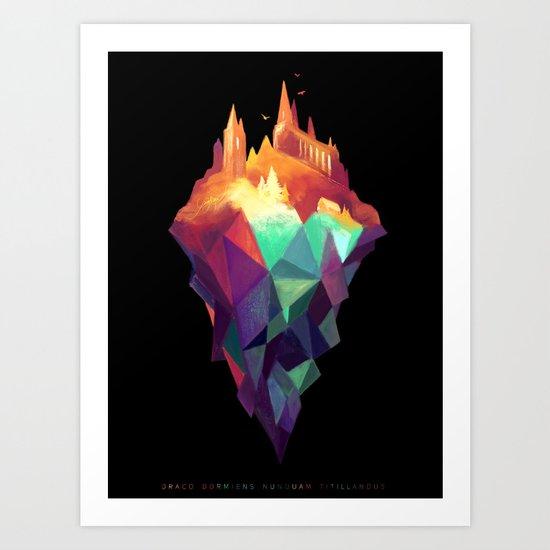 Magicae Nox Art Print