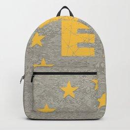 Concrete EU Flag Backpack