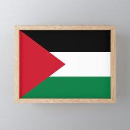 Flag of Palestine Framed Mini Art Print