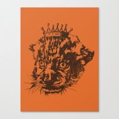 Prince of the Jungle Canvas Print