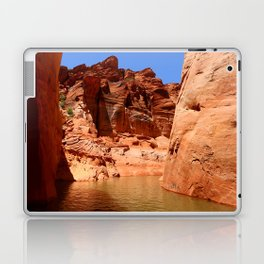 Antelope Canyon On Lake Powell Laptop & iPad Skin