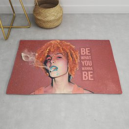 Be what you wanna be Rug