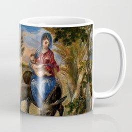 """El Greco (Domenikos Theotokopoulos) """"The Flight into Egypt"""" Coffee Mug"""