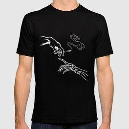 da vinci stoner t-shirt funny stoner outfit T-shirt