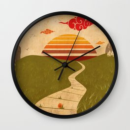 One of Seven Wall Clock