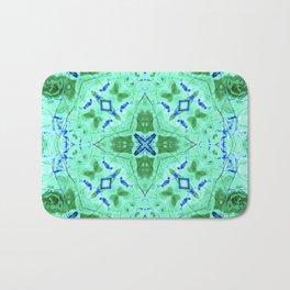 Blue Green Azurite Bath Mat