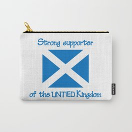 Supporter of the UNTIED Kingdom Carry-All Pouch