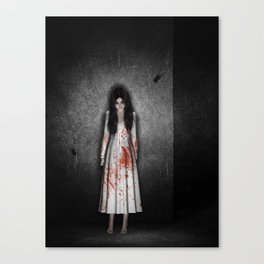 The dark cellar Canvas Print