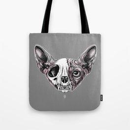 Shynx Half Skull Tote Bag
