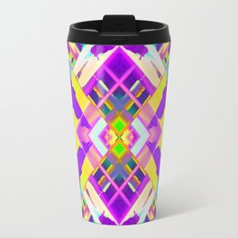 Colorful digital art splashing G482 Travel Mug