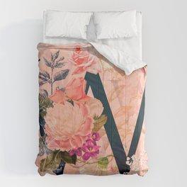 W (Initials) Comforters