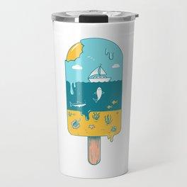 Melted Landscape Travel Mug