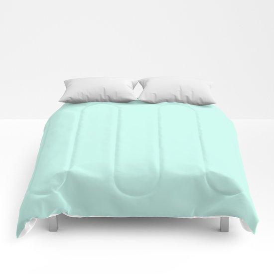 Sea Green Comforters
