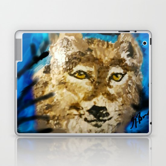 Wolf Dream Laptop & iPad Skin