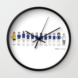 Cruzeiro - All-time squad Wall Clock
