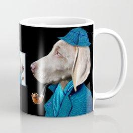 Dog Sherlock Holmes Coffee Mug